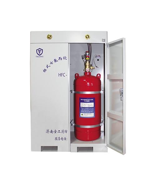 双瓶组柜式七氟丙烷灭火装置